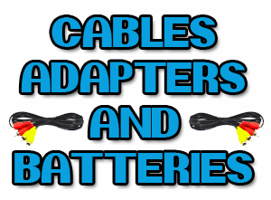 Cables, Adapters & Batteries