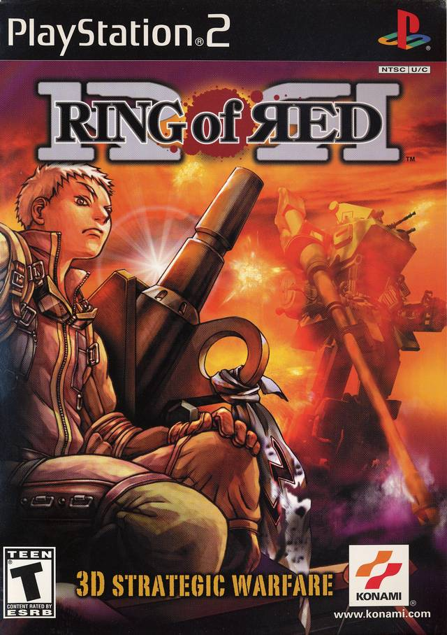 Ring Of Red Ps2 Video Game
