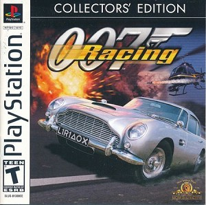 007 Racing - PS1 Video Game