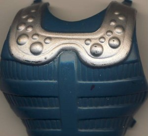 Front Armor Part of Clamp Champ - Masters of the Universe He-Man