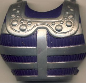Front Chest Armor Part of Fisto - Masters of the Universe He-Man