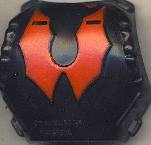 Chest Back Armor Part of Hordak - Masters of the Universe He-Man