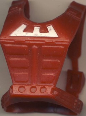 Zodac Front Chest Armor - Masters of the Universe He-Man