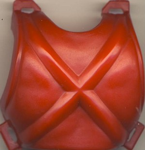 Back Armor Part of Mek-A-Nek - Masters of the Universe He-Man