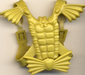 Chest Armor Part of Mer-Man - Masters of the Universe He-Man