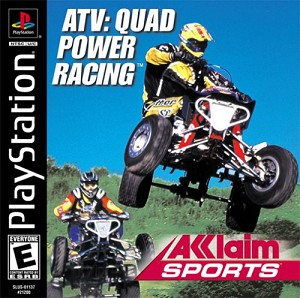ATV: Quad Power Racing - PS1 Video Game