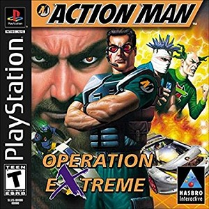 Action Man - Operation Extreme - PS1 Video Game