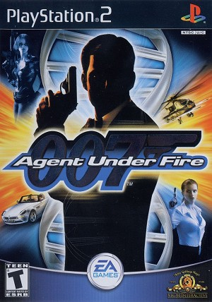 James Bond 007 in Agent Under Fire - PS2 Video Game