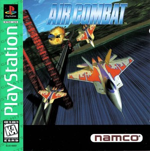 Air Combat - PS1 Video Game