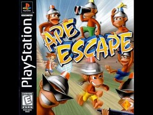 Ape Escape - PS1 Video Game