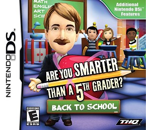 Are You Smarter Than a 5th Grader? Back to School - Nintendo DS Video Game