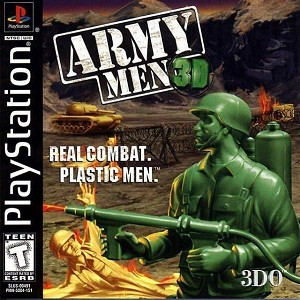 Army Men 3D - PS1 Video Game