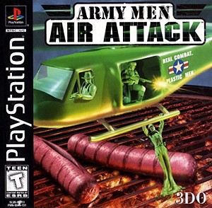 Army Men - Air Attack - PS1 Video Game