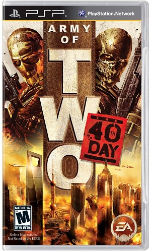 Army of Two: The 40th Day - PSP Video Game