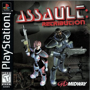 Assault: Retribution - PS1 Video Game