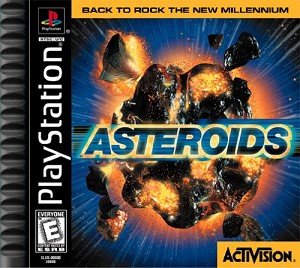 Asteroids - PS1 Video Game