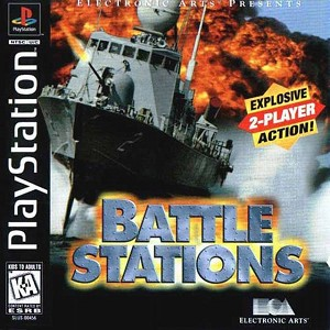 Battle Stations - PS1 Video Game