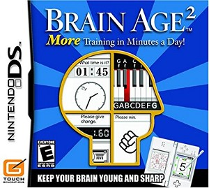 Brain Age 2 - Nintendo DS Video Game
