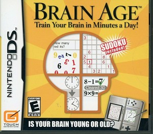Brain Age - Nintendo DS Video Game