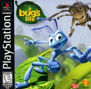 A Bug's Life - PS1 Video Game