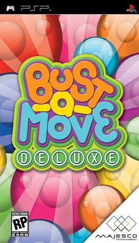 Bust-A-Move Deluxe - PSP Video Game