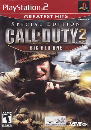 Call of Duty 2: Big Red One - PS2 Video Game
