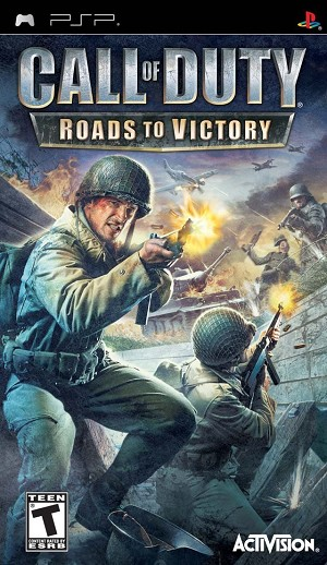 Call of Duty: Roads to Victory - PSP Video Game