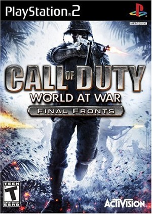 Call of Duty: World at War Final Fronts - PS2 Video Game