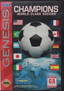 Champions: World Class Soccer - Sega Genesis Video Game