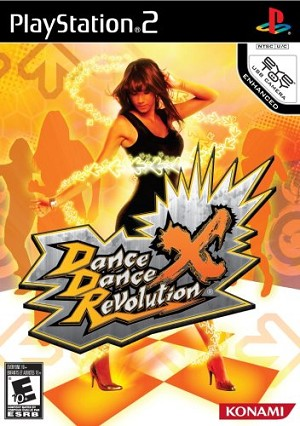 Dance Dance Revolution X - PS2 Video Game