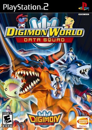Digimon World Data Squad - PS2 Video Game