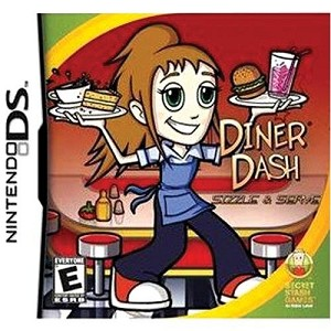 Diner Dash: Sizzle & Serve - Nintendo DS Video Game