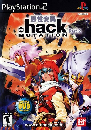 Dot Hack Mutation Part 2 - PS2 Video Game