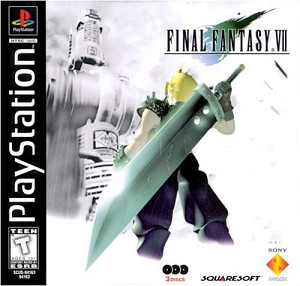 Final Fantasy VII - PS1 Video Game