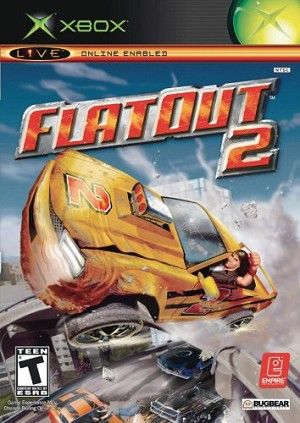 Flat Out 2 - Original Xbox Video Game