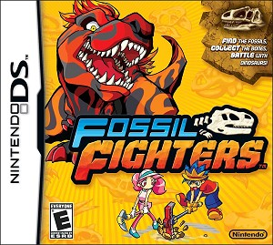 Fossil Fighters - Nintendo DS Video Game