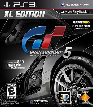 Gran Turismo 5 XL Edition - PS3 Video Game