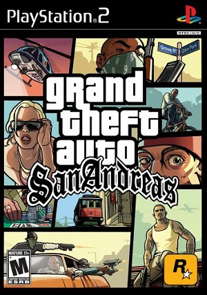 Grand Theft Auto: San Andreas - PS2 Video Game