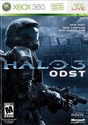 Halo 3 ODST - Xbox 360 Video Game
