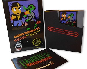 Haunted: Halloween '85 NES Game (Complete In Box - Classic Gray Cartridge)