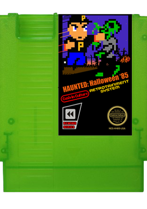 Haunted: Halloween '85 NES Game (Zombie Green Cartridge Only)