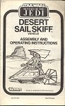 Assembly and Operating Instructions from the Desert Sail Skiff Vehicle