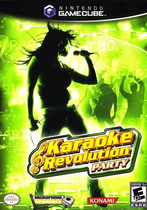 Karaoke Revolution Party - Gamecube Video Game
