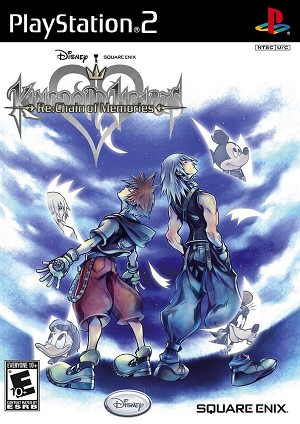Kingdom Hearts Re: Chain of Memories - PS2 Video Game