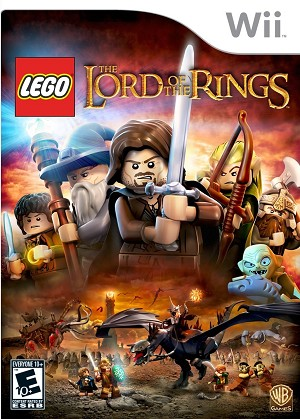 Lego The Lord of the Rings - Wii Video Game