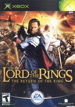 The Lord of the Rings: The Return of the King - Original Xbox Video Game