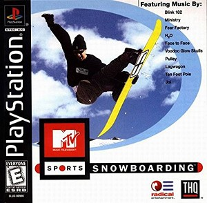 MTV Sports: Snowboarding - PS1 Video Game