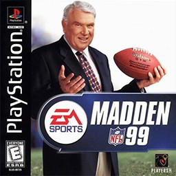 Madden NFL 99 - PS1 Video Game
