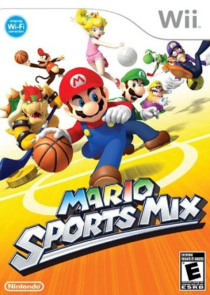 Mario Sports Mix - Wii Video Game