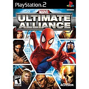 Marvel Ultimate Alliance - PS2 Video Game